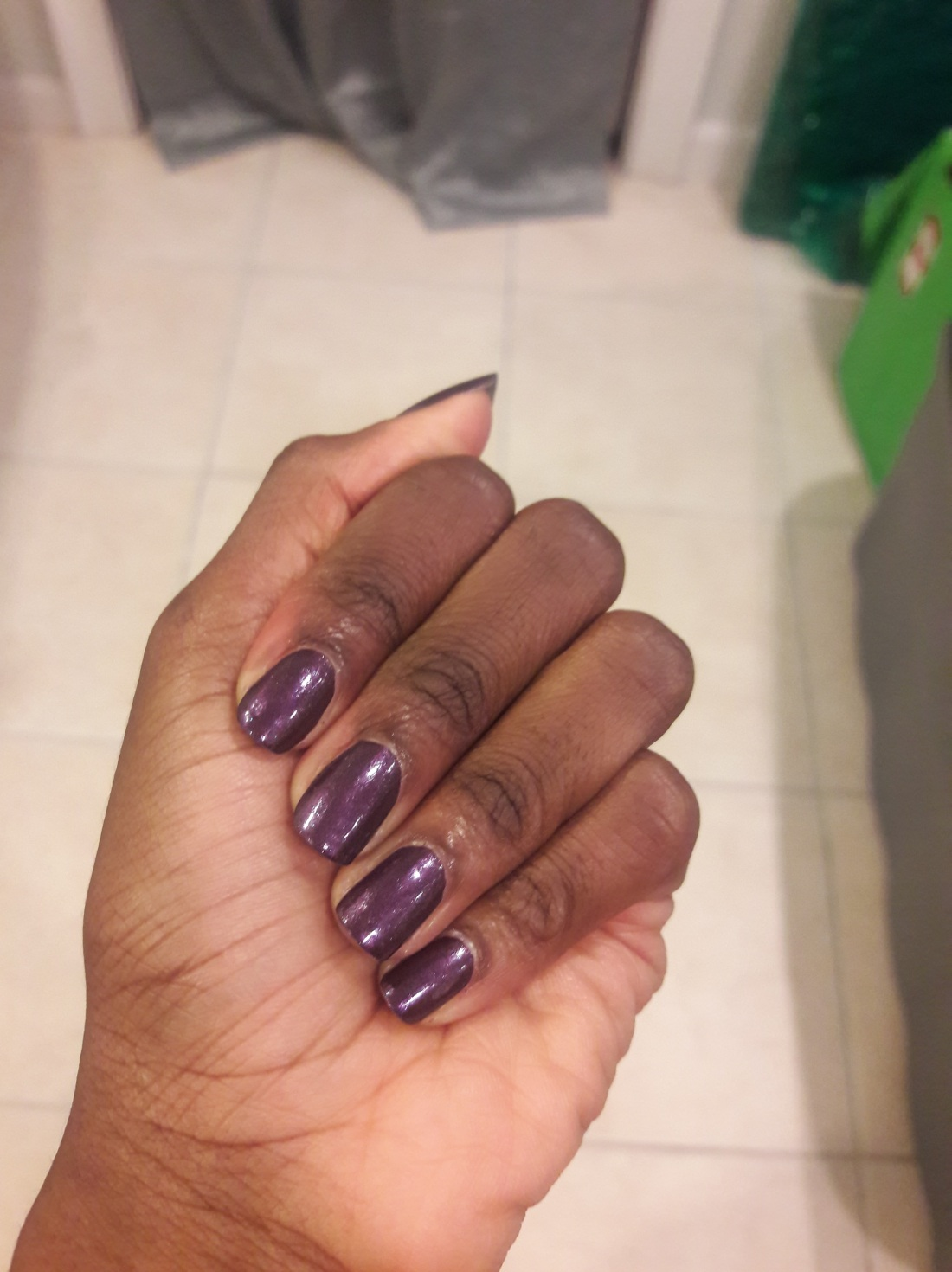 purple nails 2